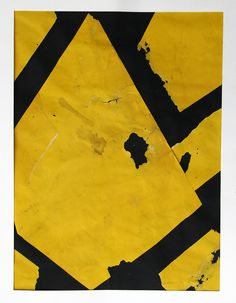 Collage YELLOW and BLACK 2014 W. Strempler