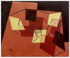 Paul Klee (1879-1940) Braced Surfaces, 1930