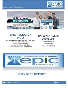 Epic Research firm is playing a vital role as a leading financial advisory firm by providing recommendations for,KLSE, Comex , Forex and all other segments with high accuracy.