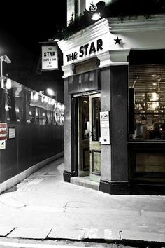 "The Star Cafe Soho - ""An independent, relaxed table service bar, serving classic cocktails, wines and champagnes all accompanied by a small tapas style menu.Home to The London Gin Club"" - The Owner.     By day the Star is a traditional cafe where you can get a cooked breakfast for less than a fiver. Come night time the Star becomes The Star at Night, home to the London Gin Club.   Highly recommended for the last bank holiday of 2012    Location: 22 Great Chapel Street Soho, W1F 8FR"