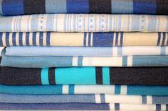 Blue patterns - Focal Point Home, AU Blue Patterns, Mat Online, Bath Linens, Silk Road, Central Asia, Bath Mat, Towels, Bathing, Textiles