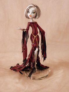 Red Gown for Your Monster High Doll.