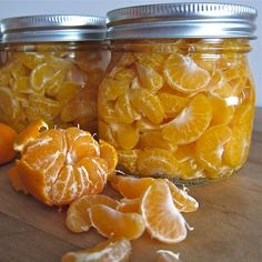 How to Can Mandarin Oranges-- I have been looking for a recipe like this for a LONG time!!