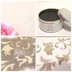 Stencils, Place Cards, Place Card Holders, Paint Decor, Frame, Painting, Stripping Furniture, Antique Furniture, Paintings