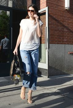 Out in New York.   - MarieClaire.com