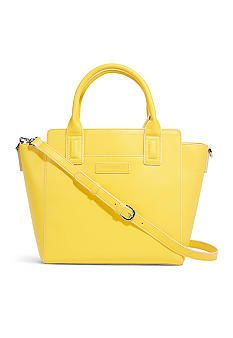 Vera Bradley Faux Leather Satchel - Belk.com
