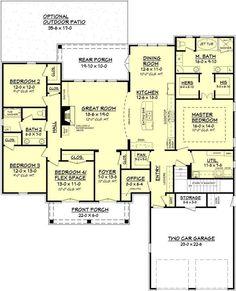 25 best ideas about 4 Bedroom House on Pinterest 4 bedroom house plans House floor plans and Ranch style floor plans. 25 best ideas about 4 Bedroom House on Pinterest 4 bedroom
