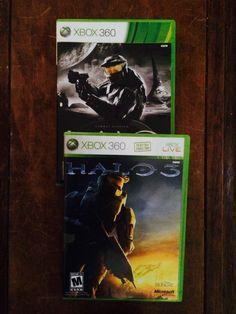 Halo: Combat Evolved -- Anniversary  (Xbox 360, 2012) and  Halo 3