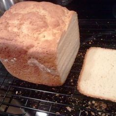 Gluten Free Challah Bread (rice flour, tapioca starch, sugar, sea salt, water, safe yeast, acv, butter, 4 eggs) #breadmaker