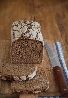 Kornkasten: Recipe for a nice strong and aromatic mixed bread with high . - Brot-Brötchen & Co backen recipes bread Blueberry Recipes, Egg Recipes, Pumpkin Recipes, Bread Recipes, Baking Recipes, German Bread, Vegan Breakfast Recipes, Pampered Chef, Cookies Et Biscuits