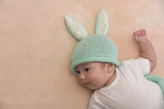 Cottontail Bunny Cocoon   Hat - Hat pattern by Julie Farmer. Ravelry 3b2519e25f9c