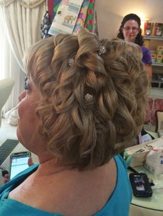 Awesome Mother Of The Bride Hairstyles Partial Updo Uploaded To Hairstyles For Men Maxibearus