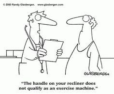 health jokes for the elderly   Funny Comics by Randy Glasbergen