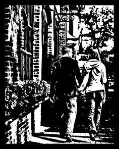 Artist Joe Bagley hand cuts original paper art from a single piece of black paper. A single piece. Weird Pictures, Art Pictures, Paper Pot, Paper Cut Design, Black Picture, Canvas Paper, Black Paper, Paper Cutting, Cut Paper