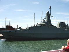 Omani patrol vessel.