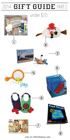 2014 Gift Guide: Part 2 — All for the Boys Slime Kit, Best Games, Giving, Stocking Stuffers, Card Games, Gift Guide, Kids Toys, Families, Great Gifts