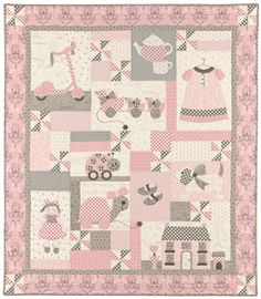 Sugar and Spice and everything nice...  Sugar and Spice name of pattern for this quilt Love it!!