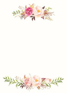 Pin on fundo para convite de casamento. This Pin was discovered by Ana Paula.) your own Pins on Convites de Noivado Flower Backgrounds, Flower Wallpaper, Wallpaper Backgrounds, Invitation Background, Invitation Cards, Wedding Invitations, Floral Invitation, Watercolor Logo, Watercolor Flowers