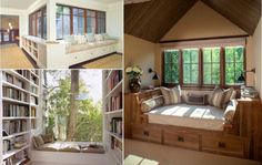 53 idées pour aménager un petit coin cosy près de la fenêtre - Des idées