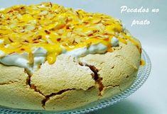Receitas de pecados no prato: Pavlova com natas e creme de ovos