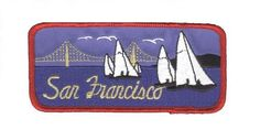 San Francisco Patch - Sailboats, Golden Gate Bridge