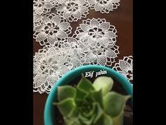 Needle lace motif making Needle Lace, Hand Quilting, Baby Knitting Patterns, Embroidery Designs, Projects To Try, Quilts, Youtube, How To Make, Crafts