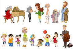 Diferents personatges