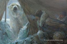 Wildlife Paintings, Wildlife Art, Shadow Creatures, Man Vs Nature, Hunting Art, Artist Bio, Back Art, Cool Paintings, Concept Art