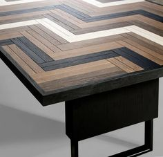 For Sale on - Domino dining Tamble is perfect for a modern or a comfortable dining room. Crafted in traditional wood techniques, Domino shows all of its beauty in black, White Oak, Black And White, Dining Room Table, Traditional, Wood, Furniture, Home Decor, Beauty, Solid Wood