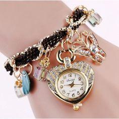 Relógio Pulseira Borboleta Encantada