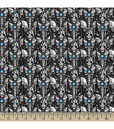 Doctor Who Cyber Man Cotton Fabric