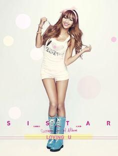 K-pop. sistar Hyorin.