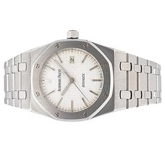 Audemars Piguet Royal Oak automatic-self-wind womens Watch (Certified Pre-owned) – Houffpauir Swiss Watches Audemars Piguet Diver, Audemars Piguet Royal Oak, Stainless Steel Bracelet, Stainless Steel Case, Certified Pre Owned, Automatic Watch, Watches For Men, Wrist Watches, Men's Watches