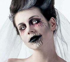 Die 118 Besten Bilder Von Halloween Make Up Tutorials Make Up