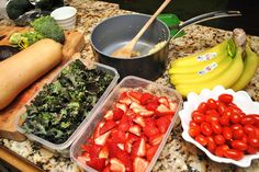 Home in Disarray: Clean eating meal planning