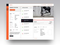 dashboard of inventory management asset view by Daniel Deme