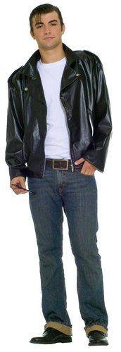50s Teen Idol Costume Teddy Boy Blue Costume adulto uomo Rock and Roll Vestito