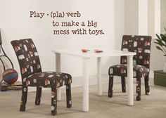This decal is perfect for the playroom