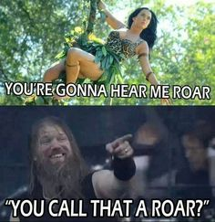 Amon Amarth keeping things in perspective.