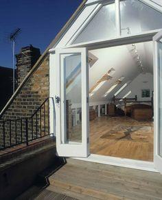 Roof Loft Conversion Balcony Google Search Porch