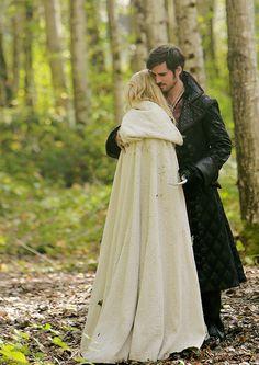 "Killian and Emma in 5x08 ""Birth"""