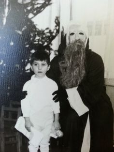 This just looks like some kind of horrible Eyes Wide Shut fever dream:   23 Disturbing Santa Claus Photos That Will Wreck Your Christmas