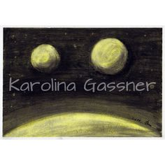 """""""Somewhere In The Universe"""" by Karolina Gassner (2011) charcoal and soft pastels on paper (size A4)"""