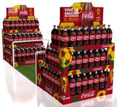 Campaña Visibilidad Coca Cola Mundial 2014 on Behance