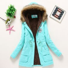 abe86b6ee10 Gorgeous Cotton Winter Jacket For Womens Outwear