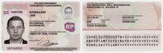 Wzór dokumentu tożsamości cudzoziemca