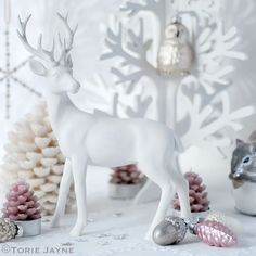Enchanted Forest Christmas inspiration by Torie Jayne Christmas Style, Christmas Trends, Christmas Sweets, Noel Christmas, Christmas Inspiration, Christmas Crafts, Christmas Decorations, Christmas Colour Schemes, Christmas Colors