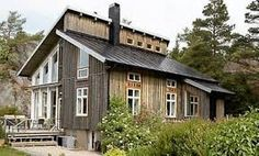 Image result for järnvitriol Style At Home, Small Summer House, Wood Facade, Home Projects, Arch, Sweet Home, Shed, Exterior, Outdoor Structures