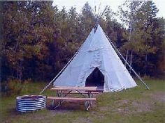 teepee rental michigan