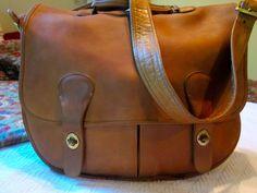 VERY RARE COACH CASHIN VINTAGE SWAG, musette, carrier, crossbody messenger bag #Coach #MessengerCrossBody